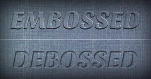 embossing-and-debossing