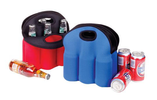 6 bottle or can cooler bag