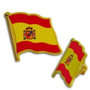 Flag Pin Spain