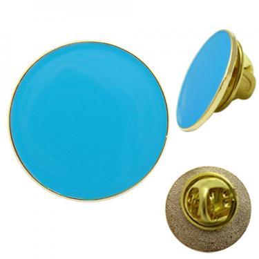 Pin badge - 20mm gold
