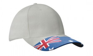 Waving-Flag-Cap-white