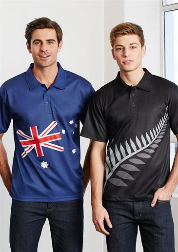 anzac polo shirts