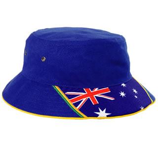 australian flag bucket hat