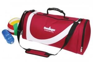 barrel sports bag