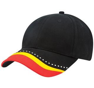 baseball cap with aboriginal theme