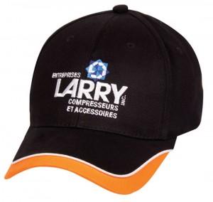 baseball cap with peak design