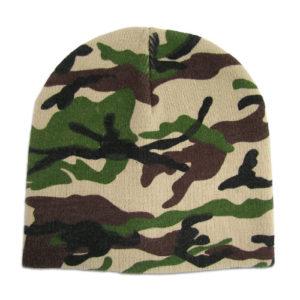 camouflage-beanie