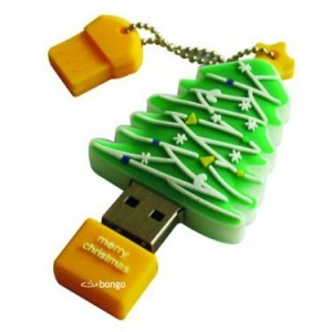 christmas tree flash drive