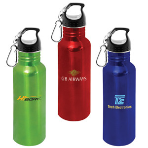 drink bottles in stainless steel