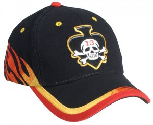 flame baseball caps