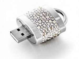 jewelled flash drive usb