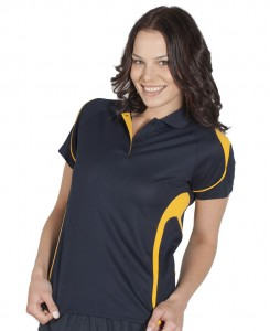 ladies bell polo shirt