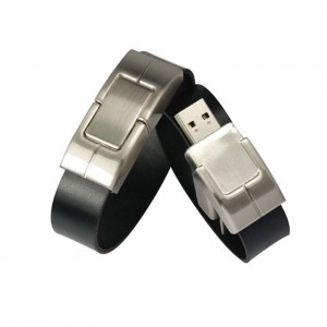 leather band flash drive