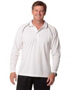 long sleeved mens polo