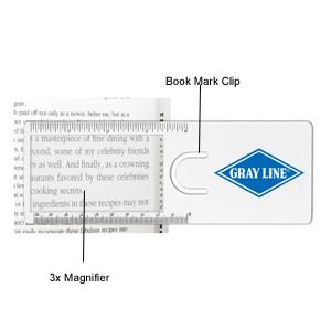 magnifier ruler bongo
