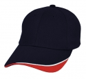 navy white red