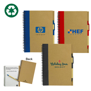 notebook recycled paper