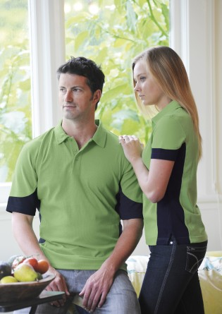 quantum duo polo shirts