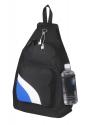 sling bag black white royal