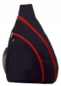 sling bag navy red