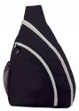 sling bag navy white