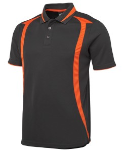 swirl sports polo shirt