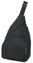 travellers sling bag black