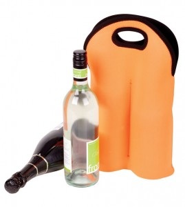 twin wine bottle holder