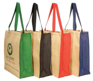 Coloured Jute Carry Bags