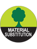material-substitution