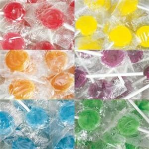 colour corporate lollipops