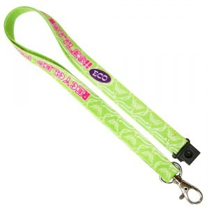 eco felt lanyards
