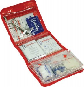 folding first aid kits