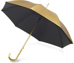 gold or silver umbrellas