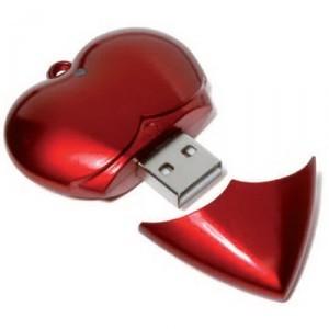 heart usb flash drives