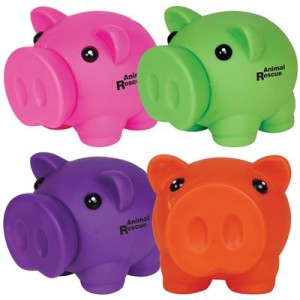 Promotional mini piggy banks bongo for Mini piggy banks