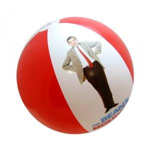 printed beach balls