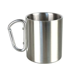 stainless steel can mug