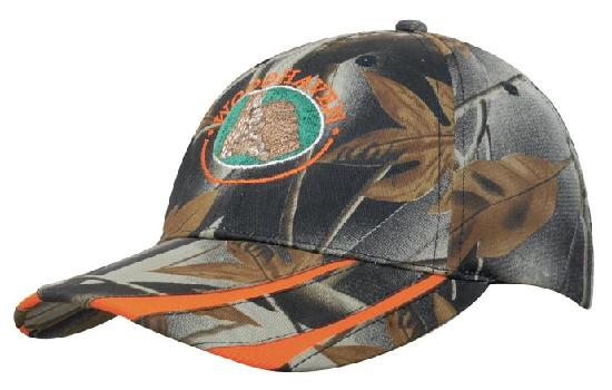 Camouflage Leaf Baseball Cap
