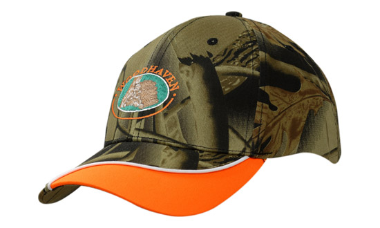 Camouflage Safety Cap