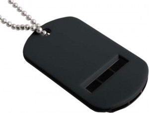 Dog Tag Whistle