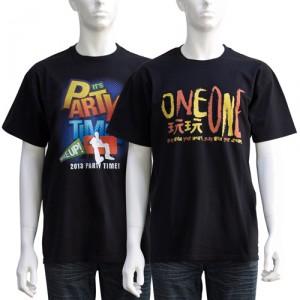 black printed t-shirts bongo