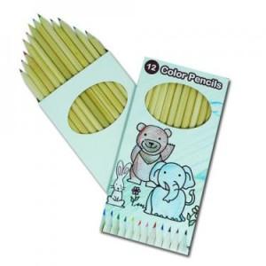 box of coloured pencils bongo