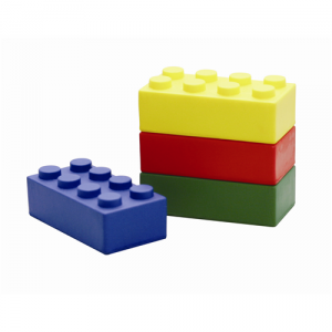 building block stress toys