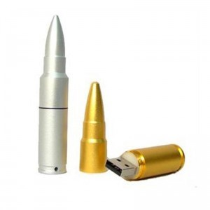 bullet shaped usb drive