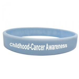childhood cancer wristband