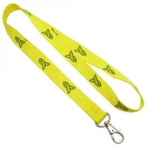 hope awareness lanyard