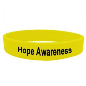 hope awareness wristband