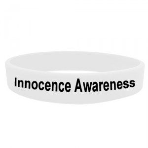 innocence awareness wrisrtband