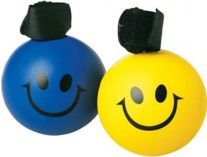 smiley stress balls